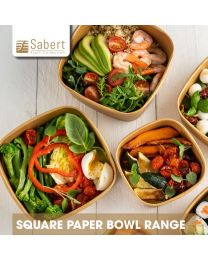 Sabert Square Paper Bowl