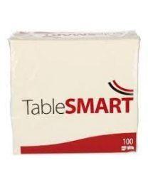 SERVETTEN TABLESMART WIT 2-LAAGS