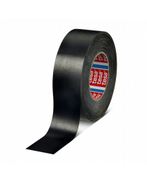 Tesa 4657/50 mm x 50 meter - zwart Met kunststof bekleed - TE4657-17 (per doos)
