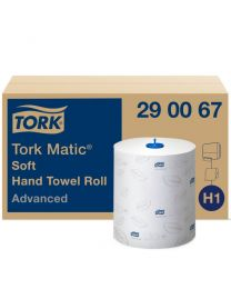 Tork MaticR Soft Hand Towel Roll 21cmx150m (612 vel) - H1 ADVANCED - TORK290067
