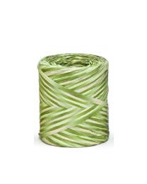 POLY RAFFIA 15mm/200m R2626 mix licht groen . - PRAF152626IND