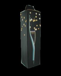 Vouwdoos SPARKLE 1 (champagne)fles 95x95x350mm - V1SPARKLE
