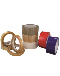 Kleefband PVC 48mmx66m Transparant - PVC4866