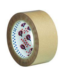 Zelfklevend papier - 50 mm x 50 m - bruin - PAP5050B