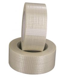 Filament tape - kruislings versterkt - 75 mm x 50 m - 28 mc - TA7712