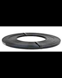 Staalband - RW - 13 x 0,5 mm - zwart gelakt schijfwikkeling-STR13501