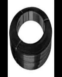 Staalband - OW - 13 x 0,5 mm - zwart gelakt spiraalwikkeling - STO13501