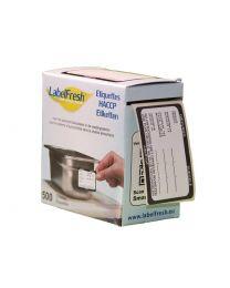 LABELFRESH etiketten 70x45mm DIEPVRIES-SURGELE - LFDIEPVRIES