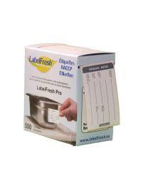 LABELFRESH etiketten PRO 70x45mm DINSDAG-MARDI - LFPRODIMA