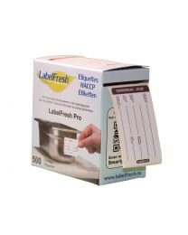 LABELFRESH etiketten PRO 70x45mm DONDERDAG-JEUDI - LFPRODOJE