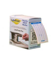 LABELFRESH etiketten PRO 70x45mm MAANDAG-LUNDI - LFPROMALU
