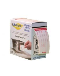 LABELFRESH etiketten PRO 70x45mm WOENSDAG-MERCREDI - LFPROWOME