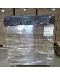 Afdekvellen op rol  1400 x 1600 mm - 45 mc - LDPE - Zw reg - AF141645ZRG