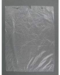 Zakjes op blok TRANSPARANT 10my 25x31+3cm - B2531