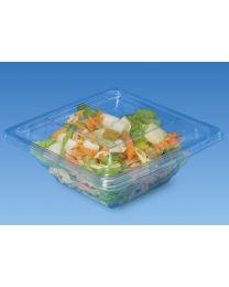 Combi saladeverp PYRAMIPACK transp 200x170x45mm 750ml + deksel transp - PY751C