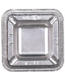 Asbak alu zilver 101x101x19mm - ASH1010