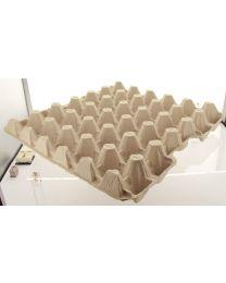 Eiverpakking pulp tray 17 M grijs voor 30 eieren - L17
