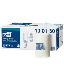 Tork Wiping Paper Mini Centerfeed Roll 22cmx120m - M1 - TORK100130