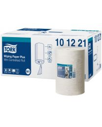 Tork Wiping Paper Plus Mini Centerfeed Roll 22cmx75m (214 vel) - M1 - TORK101221