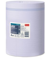 Tork Wiping Paper Plus Centerfeed Roll Blue 20cmx160m (450 vel) - M2 - TORK12820