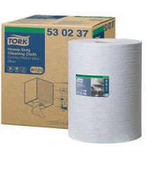 Tork Heavy-Duty Cloth CR Blue W1/W2/W3-32cmx106m/280 - TORK530237