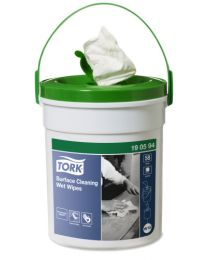 Tork Surface Cleaning Wet Wipe W14- 16x27cm/58 (4) - TORK190594