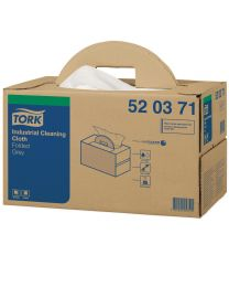 Tork Industrial Cloth Handy Box Grijs W7- 38,5x43cm/280 - TORK520371