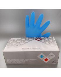 Handschoenen NITRIL BLAUW MEDIUM Niet-gepoederd - HANDNITRILBNPM