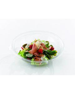 Bodem saladeverp RPET SHALLOW BOWLS transp 260x80mm 2000ml - S13064