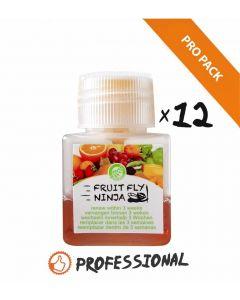 Fruit Fly Ninja traps XL Pro-Pack : 12 kleine fruitvliegvangers