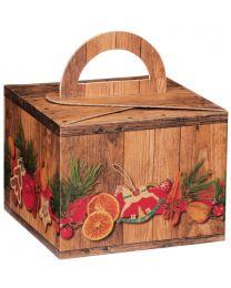 Draagbox Weihnachtsmarkt 195x195x150- TBWEIHNACHT