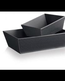 Presenteerkorf vierhoekig  ANTHRAZIT Medium 336x196x110mm