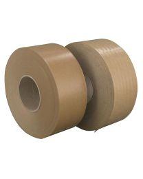 Gegomde kleefband - bruin 60 gr/m² - 50 mm x 200 m Buitengom - BG6048