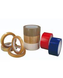 Kleefband PVC  - 50mm x 66 m - zwart ingekleurd - PVC5066Z
