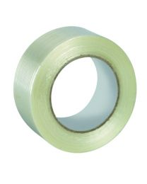 Filament tape - lengteversterkt - 50 mm x 50 m - 28 mc - TA7703