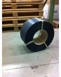 PP  omsnoeringsband - 15 mm x 0,8 mm x 1500 m - kern 406 - zwart - OM1248