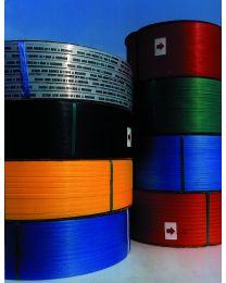 PP omsnoeringsband 12mmx0,63mmx3000m kern 200 wit - OM1255-2