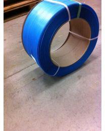 PP omsnoeringsband - 12 mm x 0,63 mm x 2100 m - kern 280 - blauw - OM1256