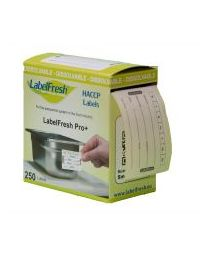 LABELFRESH Starterkit EASY + 500 etik. DIEPVRIES-SURGELE + Mini dispenser - LFEA