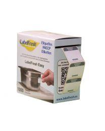 LABELFRESH etiketten EASY 30x25mm DINSDAG-MARDI - LFEASYDIMA