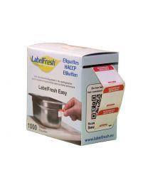 LABELFRESH etiketten EASY 30x25mm WOENSDAG-MERCREDI - LFEASYWOME