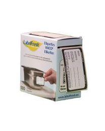 Labelfresh ALLERGENEN-Starterkit Inox - incl.14+2x500 etiketten - LFALLERGA6