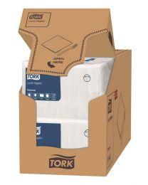 TORK Universal Napkins 33x33cm 1lgs WIT - TORK10300