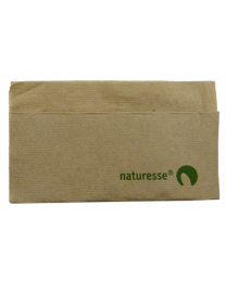 Servetten NATURESSE 1lgs natural 33x32cm