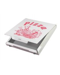 Pizzadozen ALU CUBOXAL 29x29x3cm standaard druk - PA293CUB