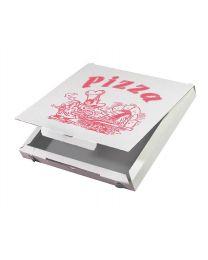 Pizzadozen ALU CUBOXAL 32x32x3cm standaard druk - PA323CUB