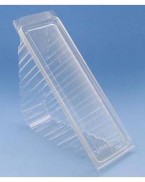 Sandwich verpakking RPET 185x70x78mm scharnierdeksel 2st - T21734A