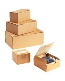 Vouwdoos duplex karton - 74 x 74 x 96 mm Geplakt - Wit - EG8003