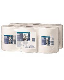 Tork Wiping Paper Plus Centerfeed Roll 24cmx125m (370 vel) - M2 - TORK130044