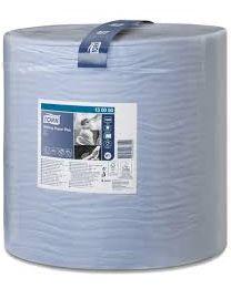 Tork Wiping Paper Plus Roll Blue 37cmx510m (1500 vel) - W1 - TORK130050